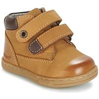 Topánky Chlapci Polokozačky Kickers TACKEASY ťavia hnedá