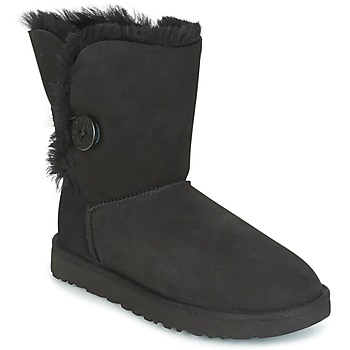 Topánky Ženy Polokozačky UGG BAILEY BUTTON II Čierna