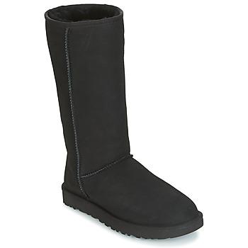 Topánky Ženy Čižmy do mesta UGG CLASSIC TALL II čierna