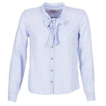 Oblečenie Ženy Košele a blúzky Cream CAMA STRIPED SHIRT Modrá