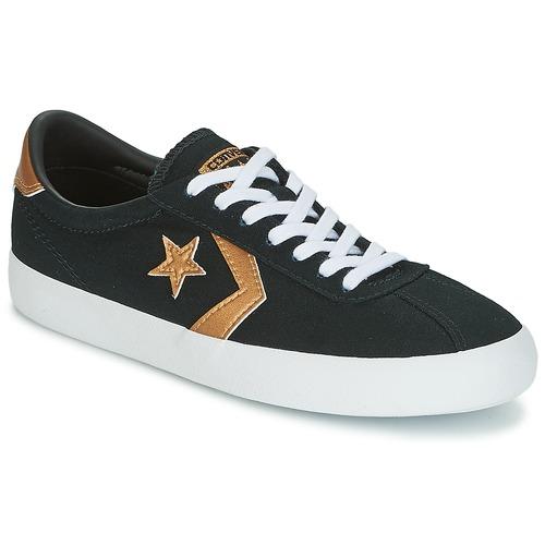 Topánky Ženy Nízke tenisky Converse BREAKPOINT OX Čierna / Zlatá
