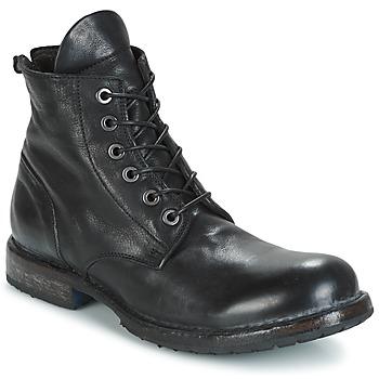 Topánky Muži Polokozačky Moma CUSNA NERO Čierna