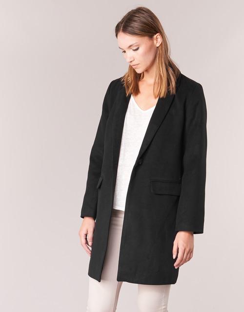 Oblečenie Ženy Kabáty Betty London HODISSE Čierna