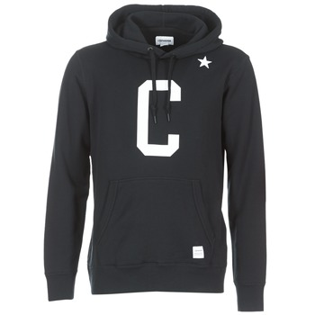 Oblečenie Muži Mikiny Converse CONVERSE ESSENTIALS COLLEGIATE STAR PULLOVER HOODIE čierna