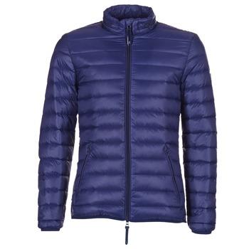 Oblečenie Muži Vyteplené bundy Vicomte A. DOUDOUNE HOMME MANCHES LONGUES NAVY Námornícka modrá