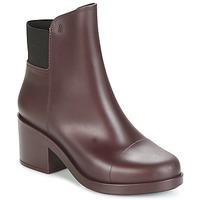 Topánky Ženy Čižmičky Melissa ELASTIC BOOTS Bordová