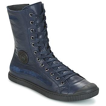 Topánky Ženy Polokozačky Pataugas BASIC Námornícka modrá