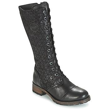 Topánky Ženy Čižmy do mesta Pataugas DOLCE Čierna