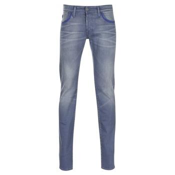 Oblečenie Muži Džínsy Slim Le Temps des Cerises 711 Šedá