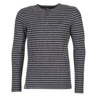 Oblečenie Muži Tričká s dlhým rukávom Le Temps des Cerises ROGER šedá