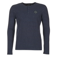 Oblečenie Muži Tričká s dlhým rukávom Le Temps des Cerises ROGER Námornícka modrá