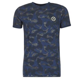 Oblečenie Muži Tričká s krátkym rukávom Le Temps des Cerises CAMOSTORK Námornícka modrá