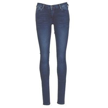 Oblečenie Ženy Džínsy Skinny Le Temps des Cerises ULTRAPOWER Modrá / MEDIUM