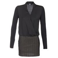 Oblečenie Ženy Krátke šaty Le Temps des Cerises MALAYA Čierna