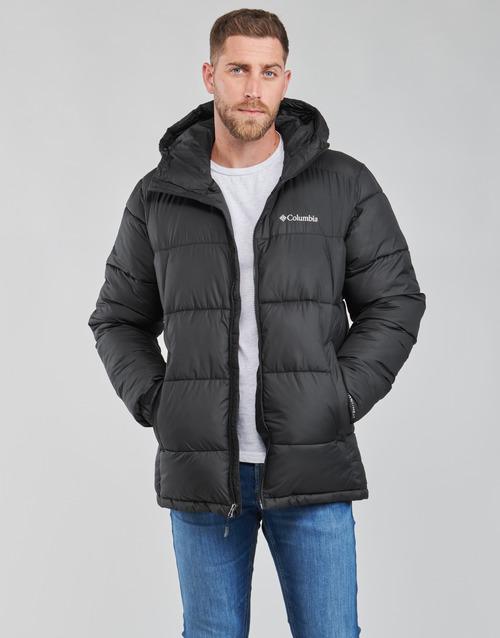Oblečenie Muži Vyteplené bundy Columbia PIKE LAKE HOODED JACKET Čierna