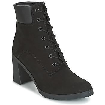 Topánky Ženy Čižmičky Timberland ALLINGTON 6IN LACE UP Čierna