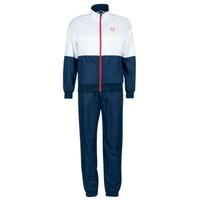 Oblečenie Muži Súpravy vrchného oblečenia Sergio Tacchini LACKSON TRACKSUIT Námornícka modrá / Biela