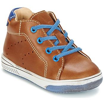 Topánky Chlapci Členkové tenisky Babybotte ANKARA Ťavia hnedá