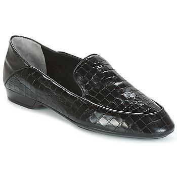 Topánky Ženy Mokasíny Robert Clergerie FANIN-COCCO-AGNEAU-NOIR Čierna