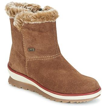 Topánky Ženy Polokozačky Rieker BATIA ťavia hnedá
