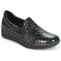 Topánky Ženy Slip-on Rieker LLOYD čierna