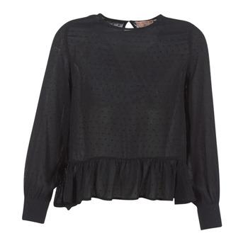 Oblečenie Ženy Blúzky Moony Mood HARMO Čierna