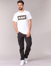 Oblečenie Muži Nohavice Cargo G-Star Raw ROVIC ZIP 3D TAPERED Havrania čierna
