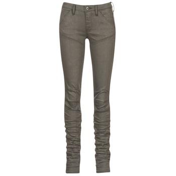 Oblečenie Ženy Džínsy Skinny G-Star Raw 5620 STAQ 3D MID SKINNY COJ WMN Kaki