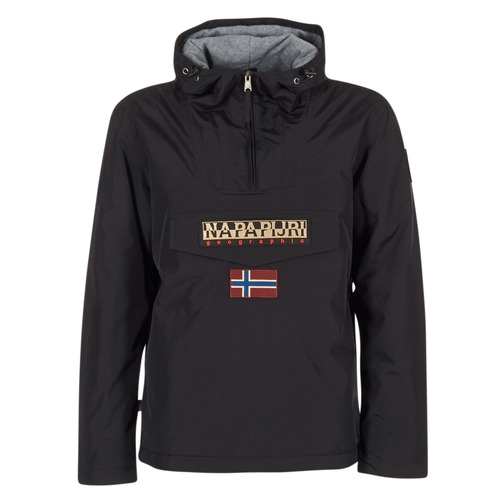 Oblečenie Muži Parky Napapijri RAINFOREST Čierna