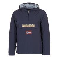 Oblečenie Muži Parky Napapijri RAINFOREST Námornícka modrá