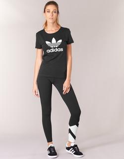 Oblečenie Ženy Legíny adidas Originals EQT LEGGINGS Čierna / Biela