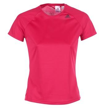 Oblečenie Ženy Tričká s krátkym rukávom adidas Performance D2M TEE LOSE Ružová