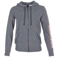 Oblečenie Ženy Mikiny adidas Performance ESS LIN FZ HD šedá