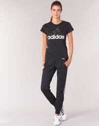 Oblečenie Ženy Tepláky a vrchné oblečenie adidas Performance ESS 3S PANT CH Čierna