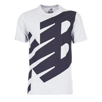 Oblečenie Muži Tričká s krátkym rukávom New Balance NB ESSENTIEL T šedá