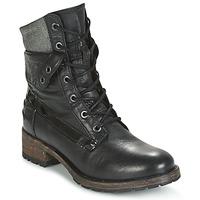 Topánky Ženy Polokozačky Pataugas DEDAY Čierna