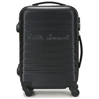 Tašky Pevné cestovné kufre Little Marcel BLOC Čierna