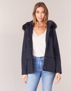 Oblečenie Ženy Kabáty Esprit CARDA Námornícka modrá