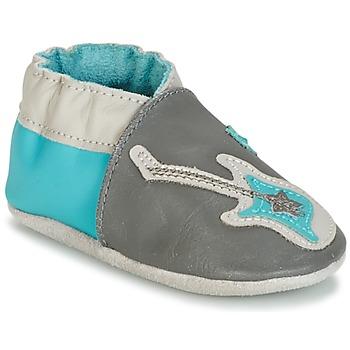 Topánky Chlapci Detské papuče Robeez SUPERSTAR ROCK Modrá / šedá