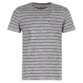 Oblečenie Muži Tričká s krátkym rukávom Selected FINN šedá / čierna