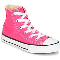 Topánky Dievčatá Členkové tenisky Converse CHUCK TAYLOR ALL STAR SEASONAL HI PINK POW Ružová