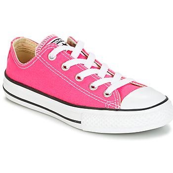 Topánky Dievčatá Nízke tenisky Converse CHUCK TAYLOR ALL STAR SEASONAL OX PINK POW Ružová