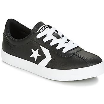 Topánky Deti Nízke tenisky Converse BREAKPOINT FOUNDATIONAL LEATHER BP OX BLACK/WHITE/BLACK Čierna / Biela