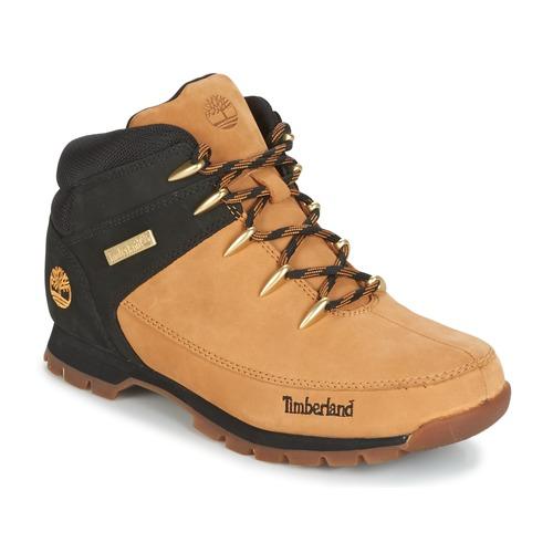 Topánky Muži Polokozačky Timberland EURO SPRINT HIKER Hnedá
