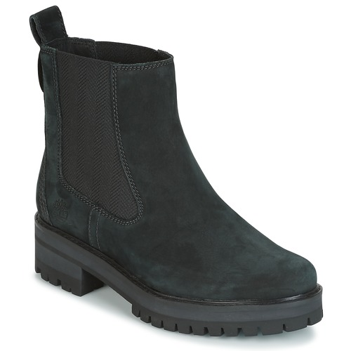Topánky Ženy Polokozačky Timberland COURMAYER VALLEY CHELSEA Čierna
