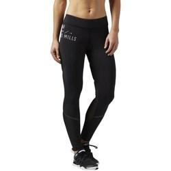 Oblečenie Ženy Legíny Reebok Sport LM Bonded Tight Čierna