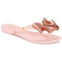 Topánky Ženy Žabky Melissa HARMONIC TARTAN AD Ružová