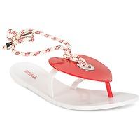 Topánky Ženy Žabky Melissa BLISS II SP AD Biela / Červená