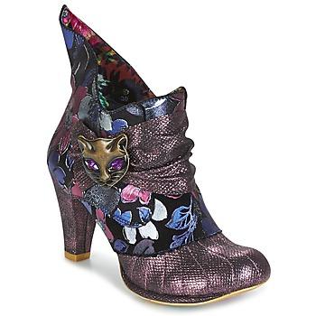 Topánky Ženy Nízke čižmy Irregular Choice MIAOW Fialová