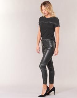 Oblečenie Ženy Nohavice päťvreckové Morgan PEANUT Čierna